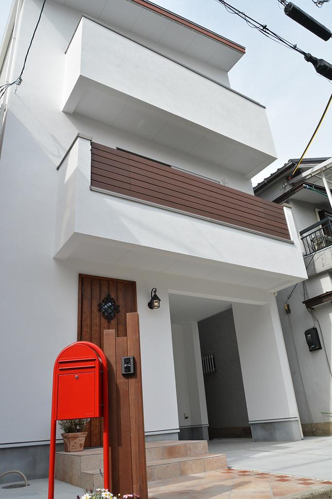 ゼロエネルギー住宅の外観