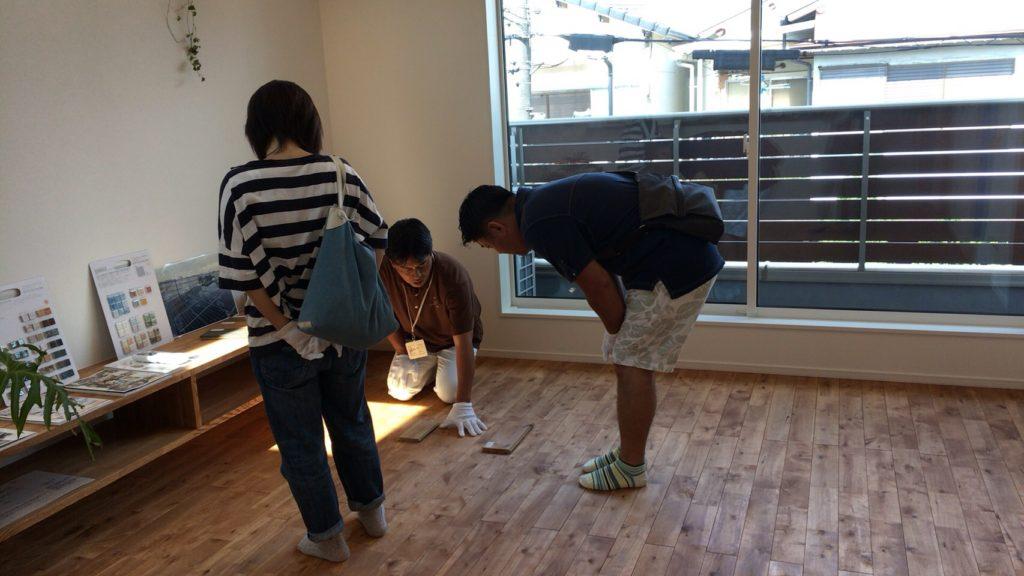 大阪府堺市にある工務店シードホームの構造・完成見学会②