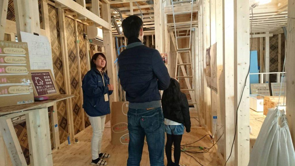 大阪府堺市にある工務店シードホームの構造・完成見学会③