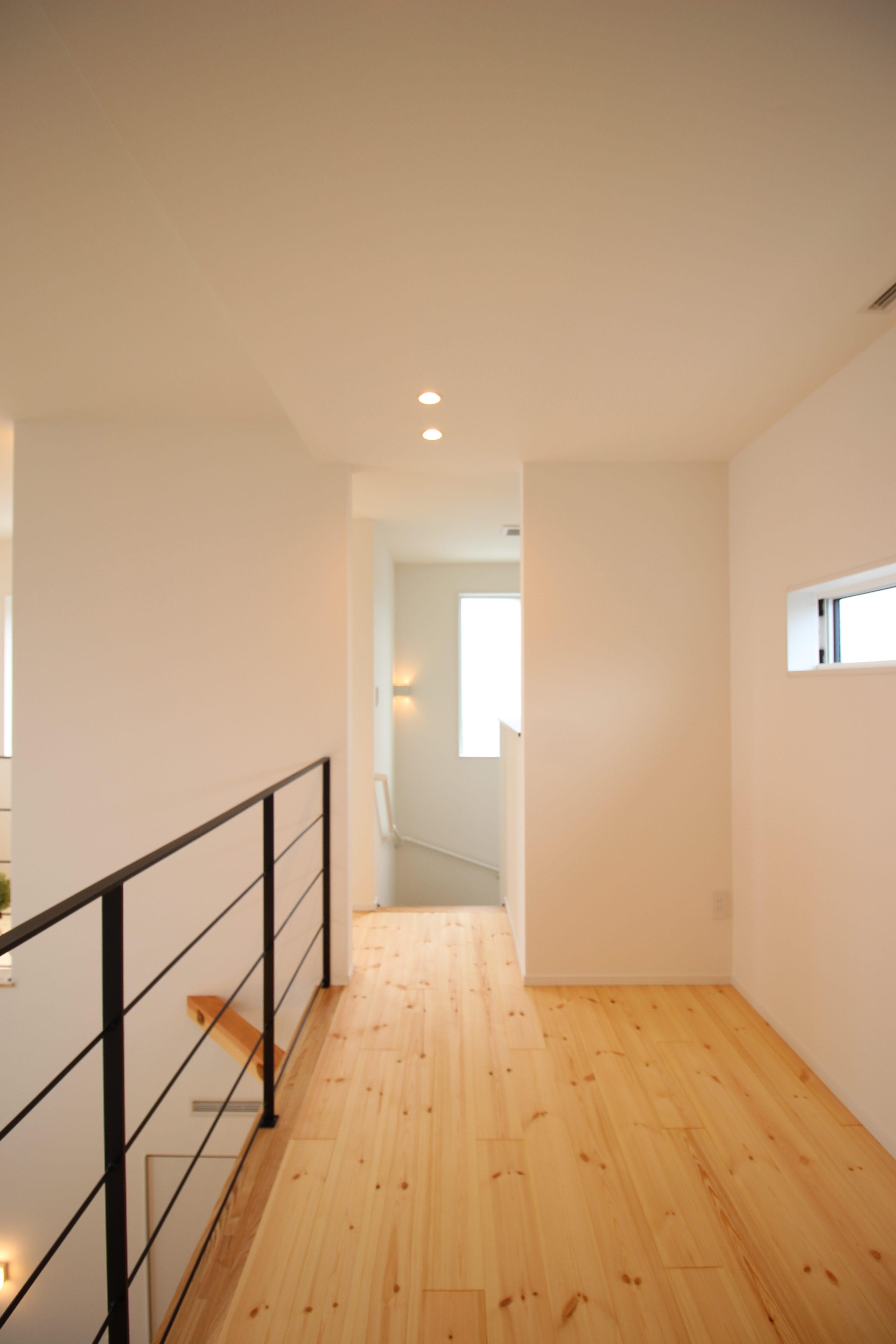 新築事例・室内物干しスペース
