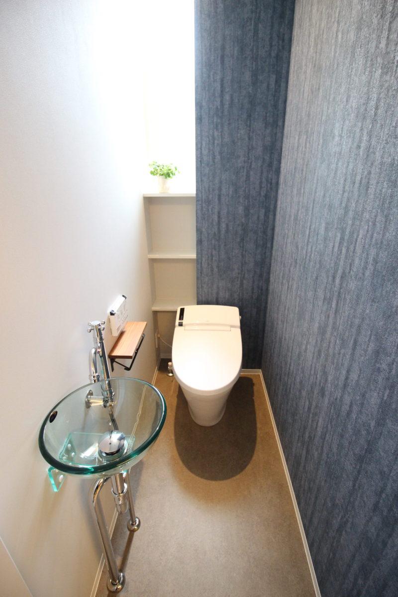 新築事例・トイレ