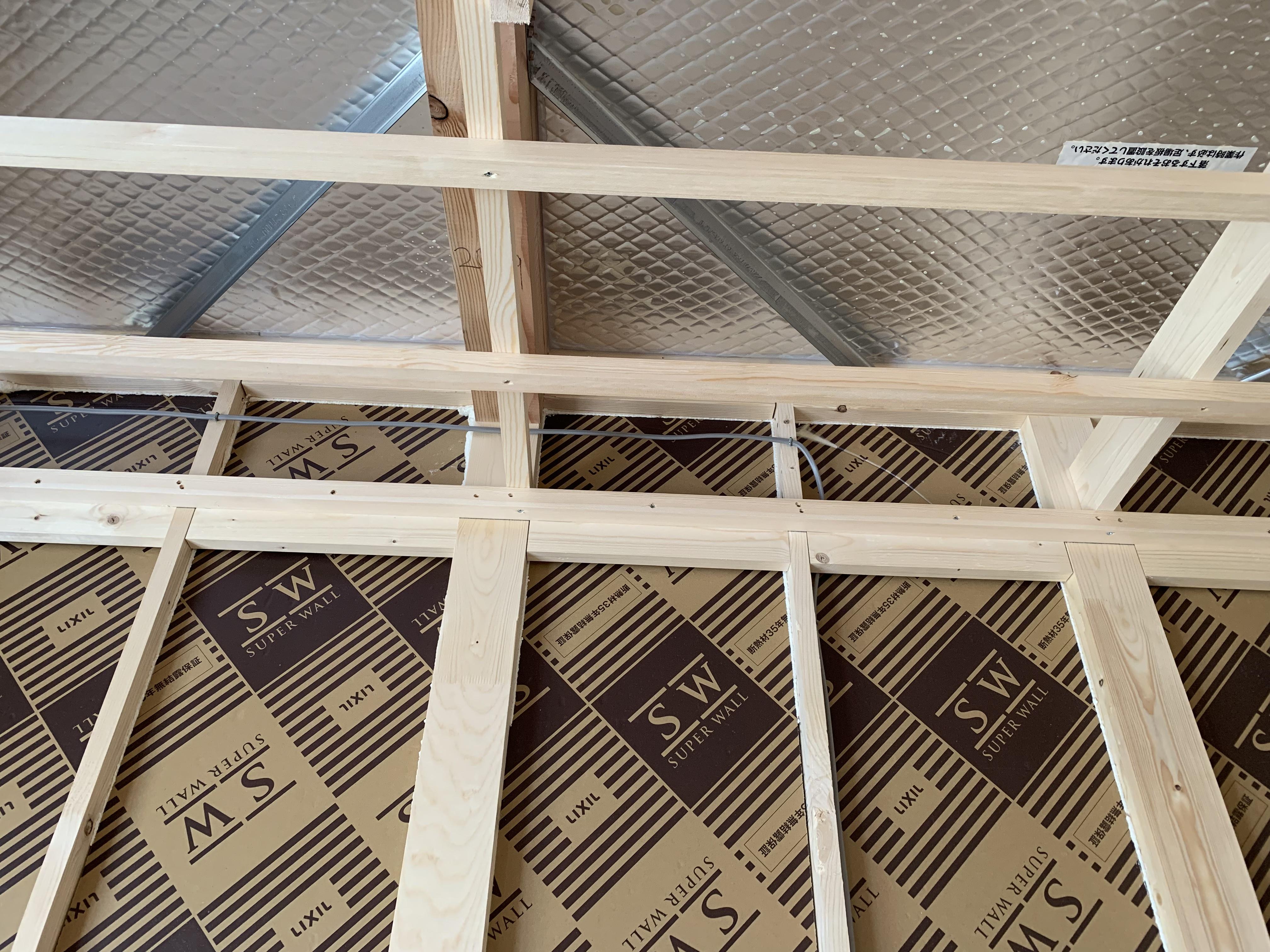 壁・屋根の断熱