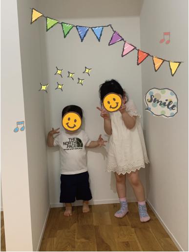 完成見学会・子供の笑顔【堺の工務店SEEDHOME】