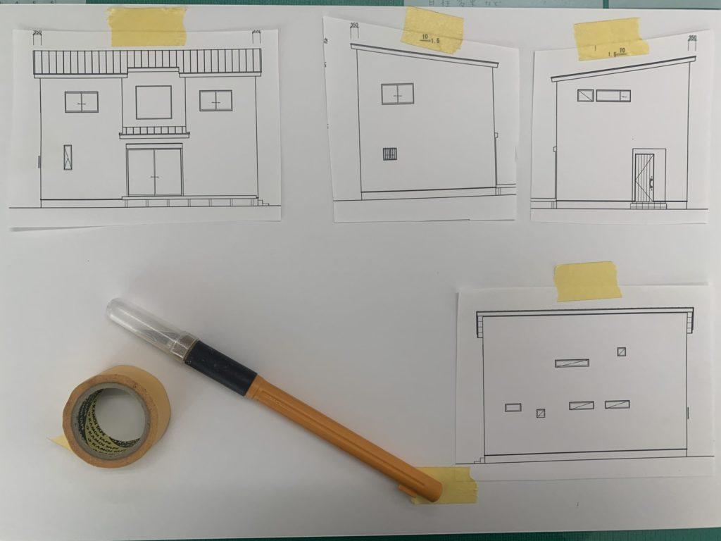 新築の模型づくり【堺の工務店SEEDHOME】