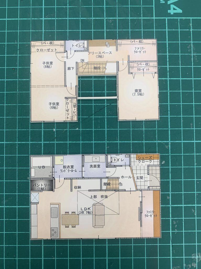 工務店の模型づくり【堺の工務店SEEDHOME】