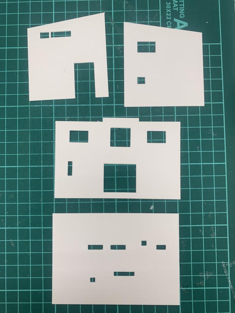 パッシブハウスの模型づくり【堺の工務店SEEDHOME】