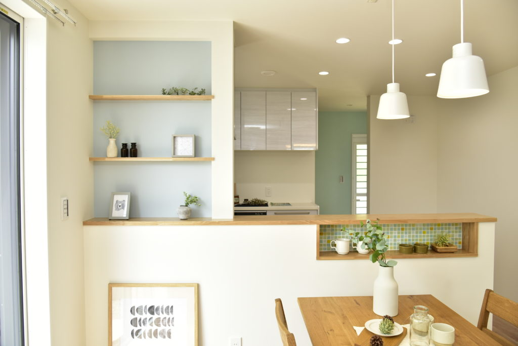 ニッチでおしゃれな新築住宅・完全自由設計